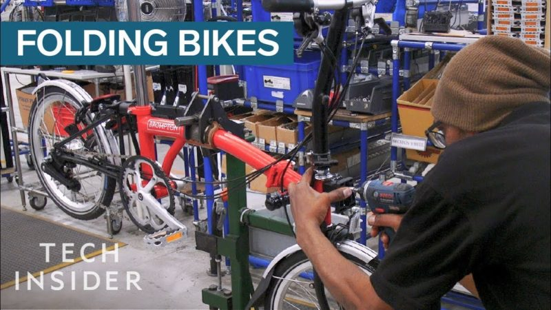 How Folding Bikes Are Made