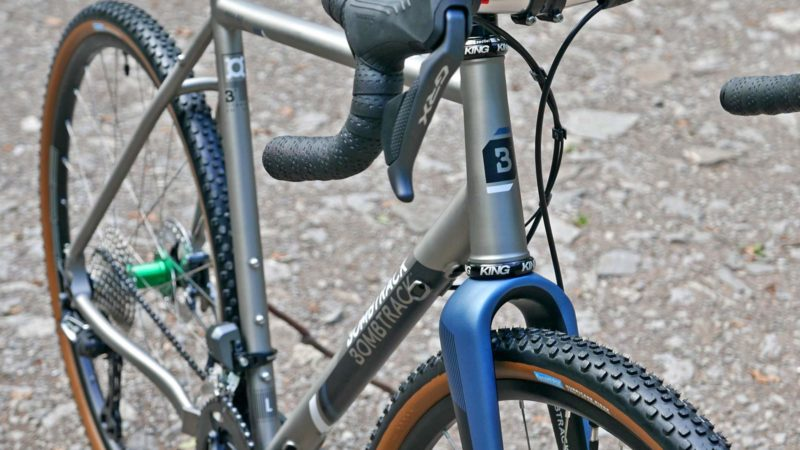 2021 Bombtrack Hook EXT Ti gravel bike extends your adventure in timeless titanium
