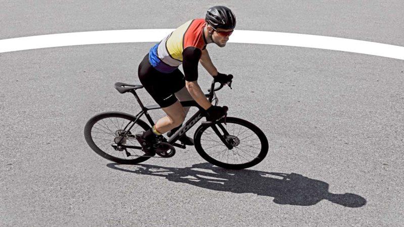 """Das heutige """"neue"""" Look 765 Optimum + Endurance-Rennrad ist das gestrige Schotterrad"""