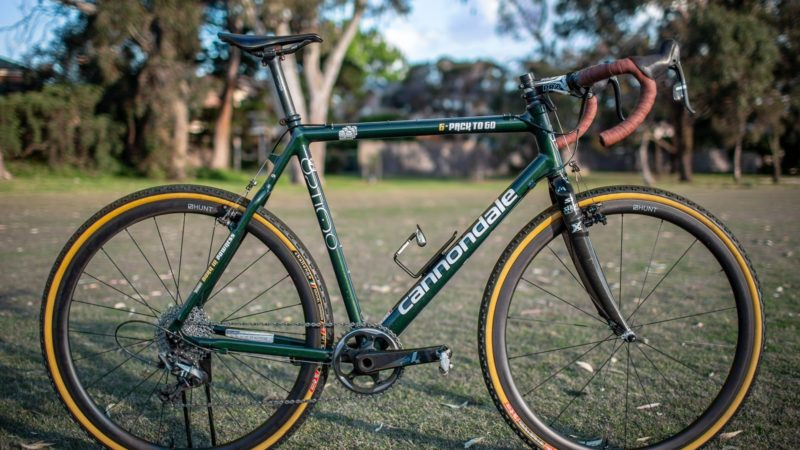 Bikes of the Staff Bunch: Wade Wallace's Cannondale 6 Pack to Go