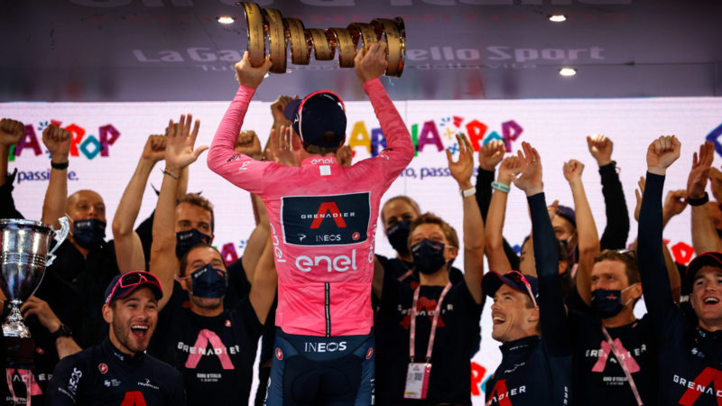 The Giro you don't see: Battle of future stars
