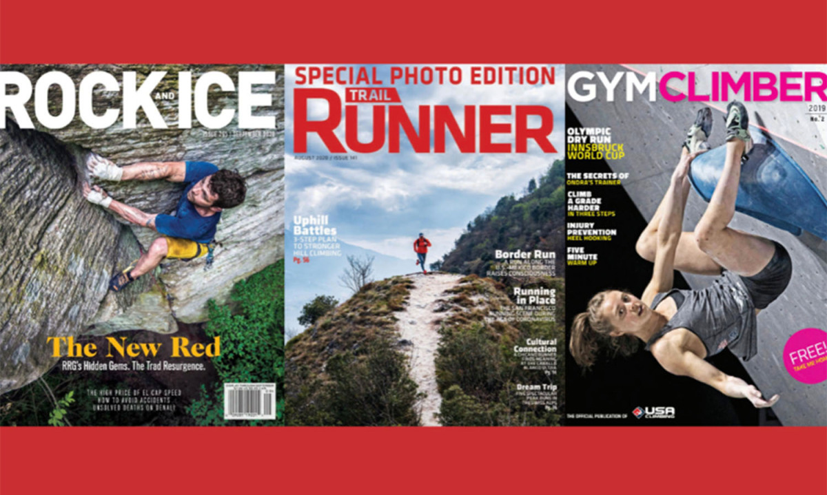 Pocket Outdoor Media verwerft de titels Rock and Ice, Trail Runner en Gym Climber – VeloNews.com
