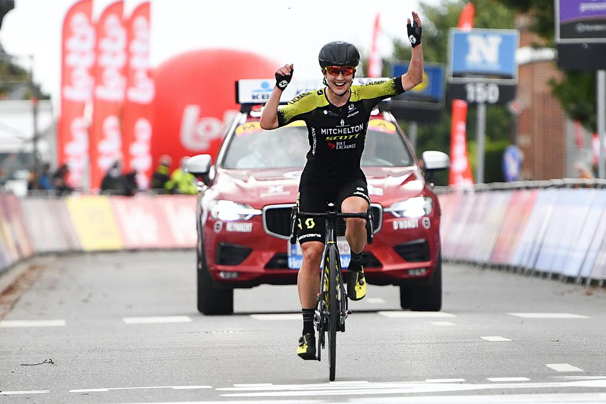 Grace Brown van Mitchelton-Scott wint Brabantse Pijl Dames – VeloNews.com