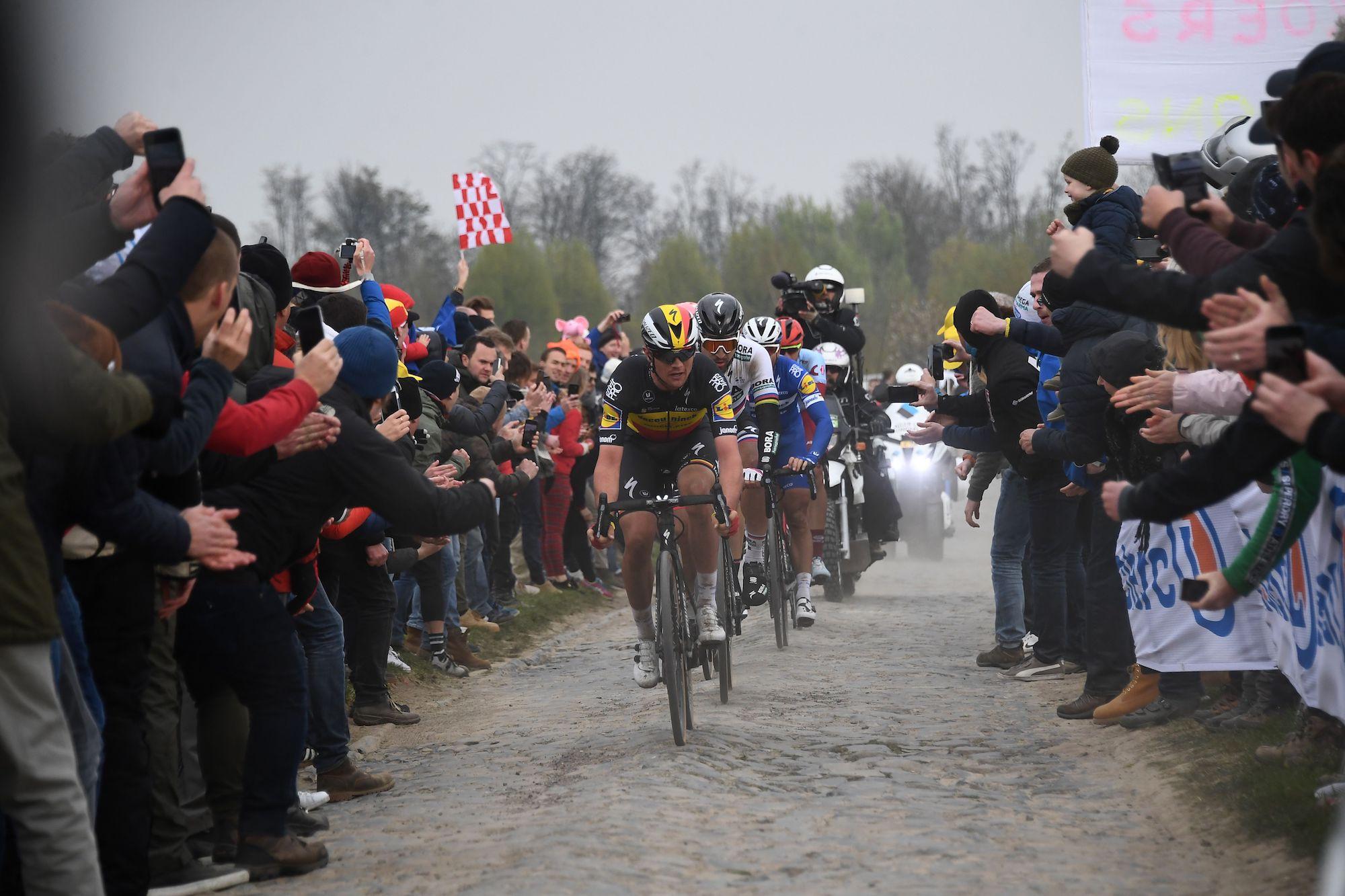 La Parigi-Roubaix 2020 è stata cancellata