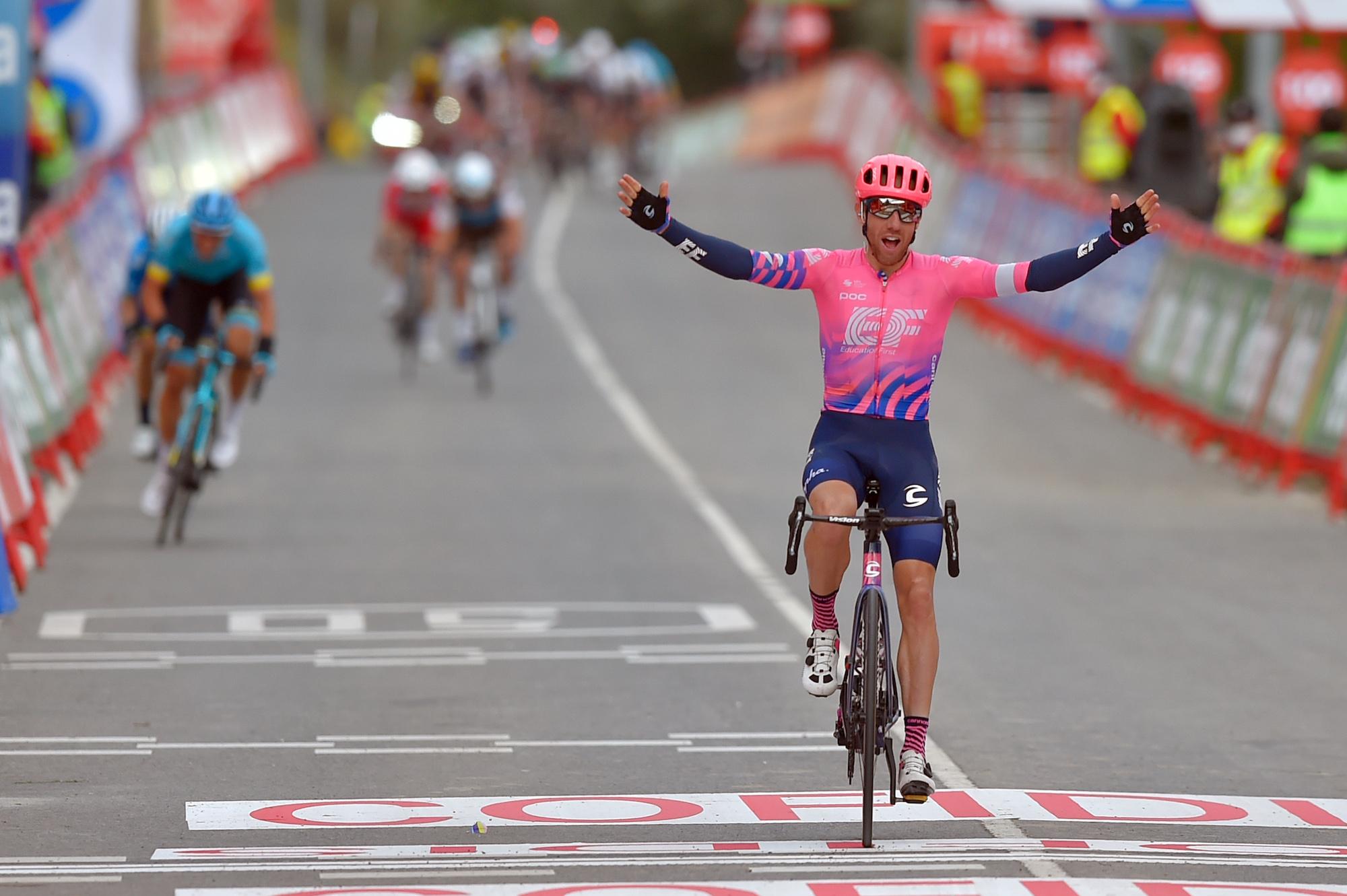 Michael Woods greift spät an, um auf der siebten Etappe der Vuelta a España 2020 das Solo des Ausreißers zu gewinnen