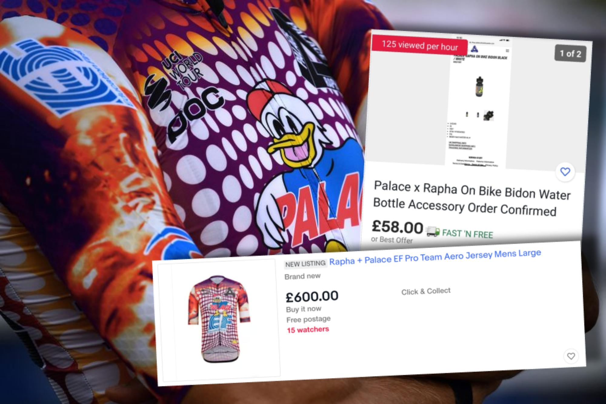 EF Rapha + Palace Trikots werden bereits für £ 600 bei eBay verkauft