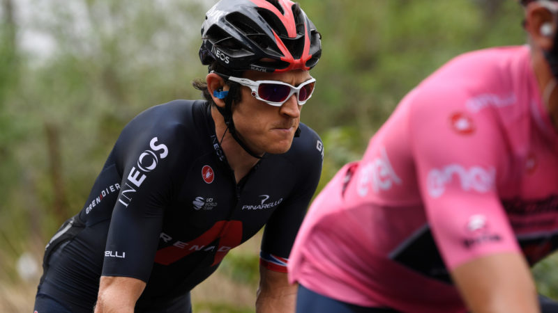 Geraint Thomas a déclaré qu'il ne pouvait pas regarder le Giro d'Italia 2020 mais fait l'éloge de Tao Geoghegan Hart