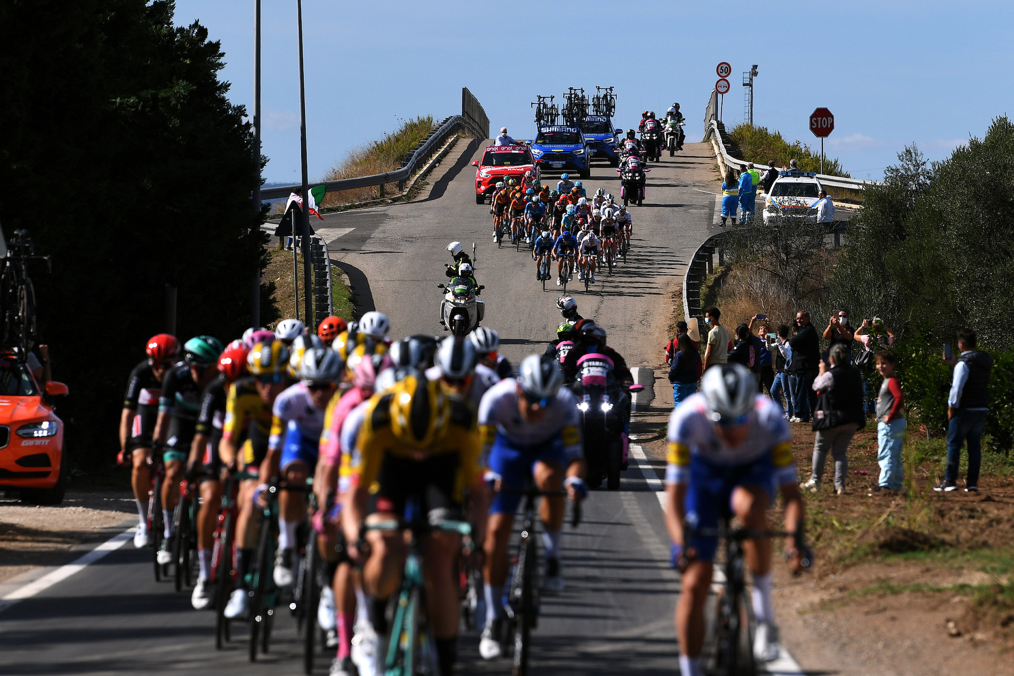 Fem talepunkter fra syvende etape i Giro d'Italia 2020