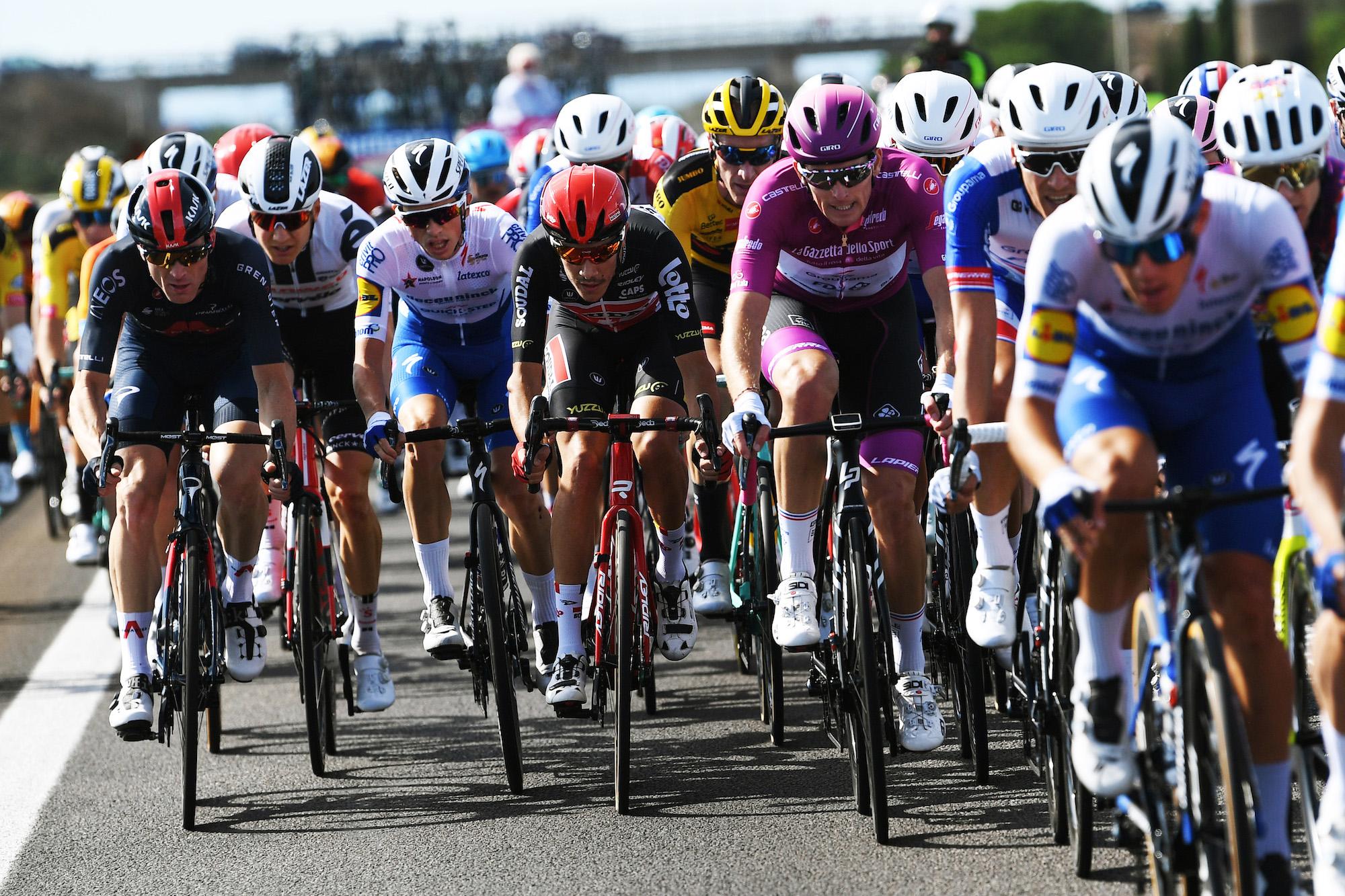 La séptima etapa rompe el récord de la etapa más rápida del Giro de Italia