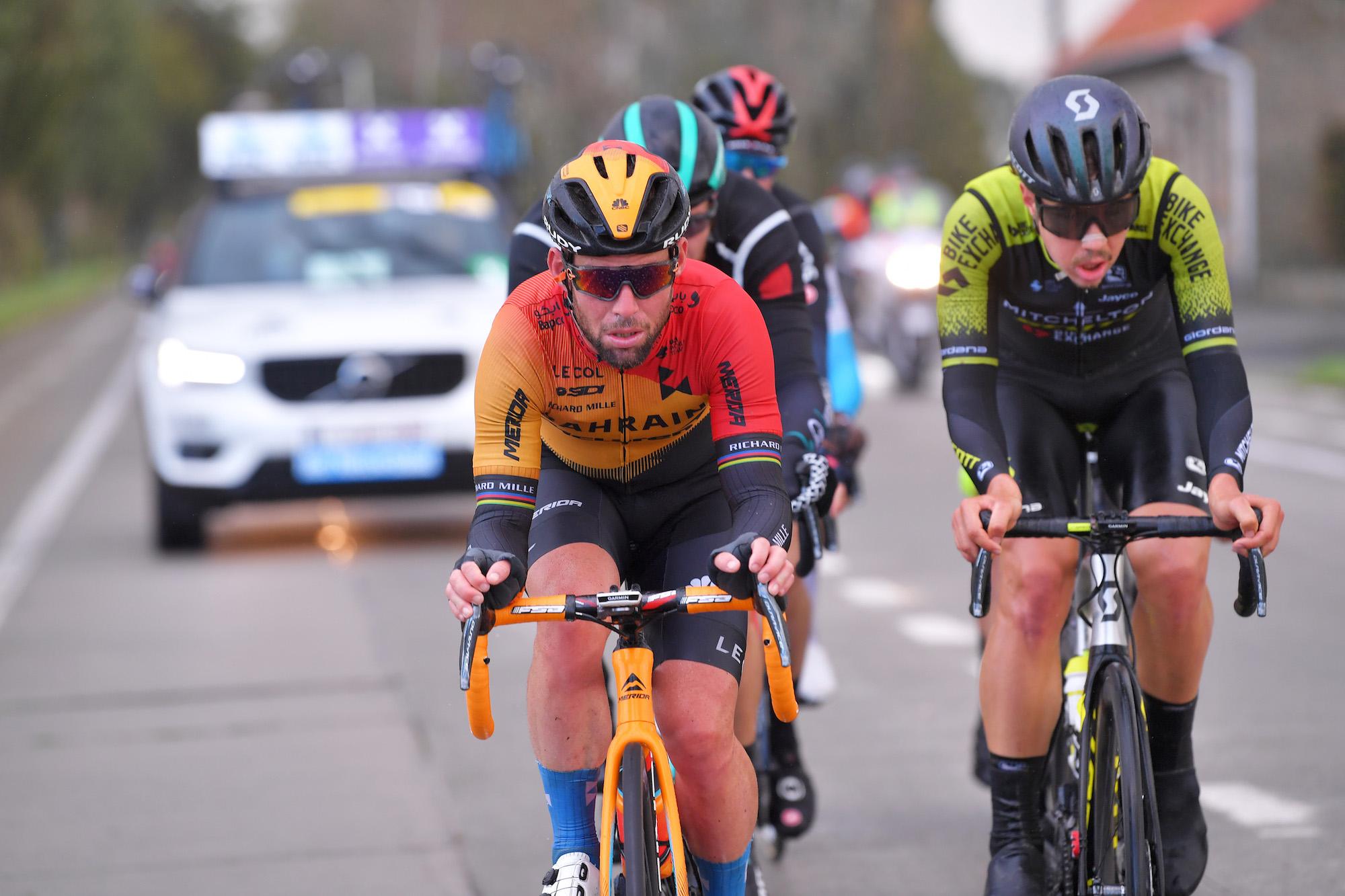 'Det er måske det sidste løb i min karriere': Mark Cavendish følelsesladet efter målgang i Gent-Wevelgem