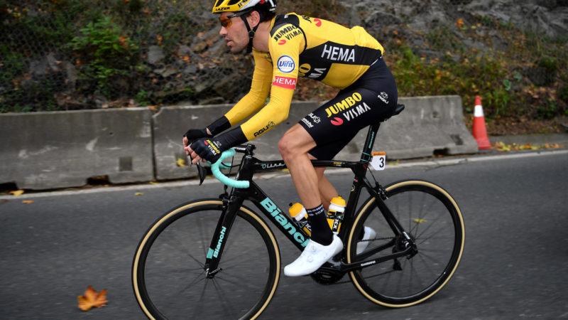 Vuelta a España 2020: Tom Dumoulin 'in de hoop de race te halen' nadat hij terugglipte op de eerste etappe