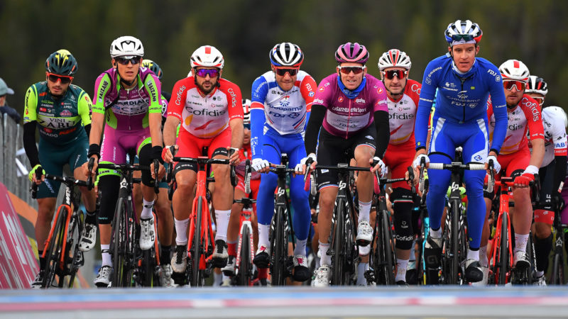 Die 19. Etappe des Giro d'Italia wurde um 100 km verkürzt, nachdem sich die Fahrer geweigert hatten, die volle Strecke zu fahren