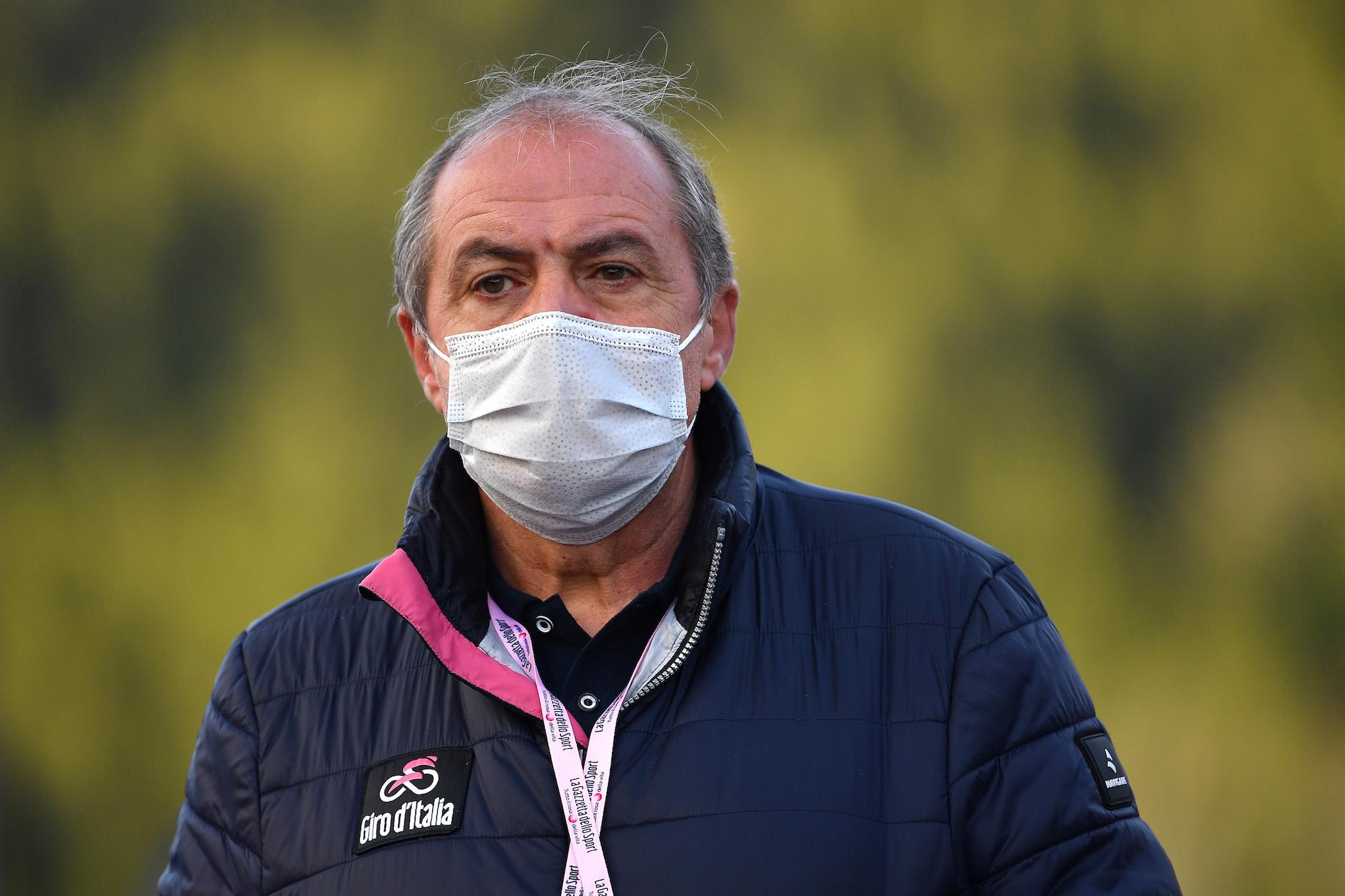 """""""Jemand wird zahlen"""", sagt der Rennleiter von Giro d'Italia nach dem Debakel zur Verkürzung der Etappe"""