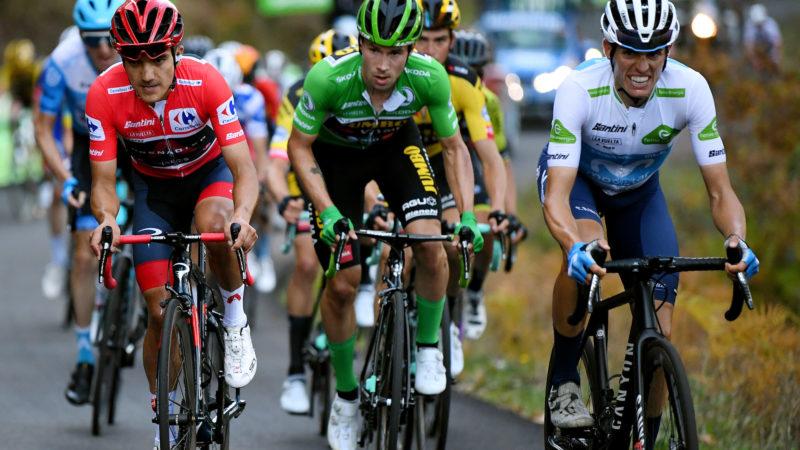 Les coureurs du GC se préparent pour le week-end de montagne d'Angliru à Vuelta a España