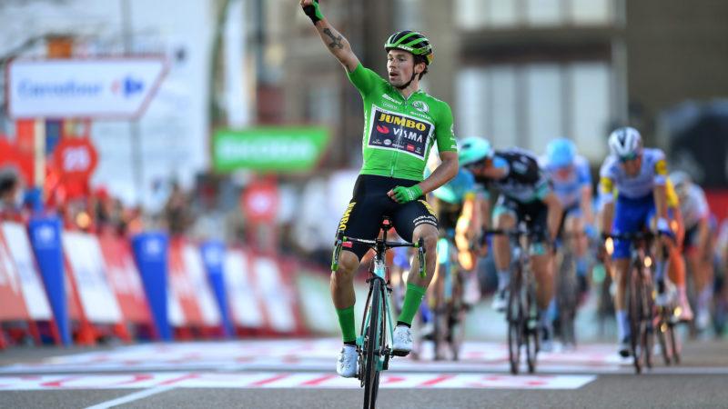 Primož Roglič passe à l'étape 10 et reprend le maillot rouge à la Vuelta a España