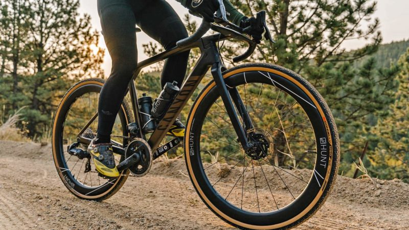 Hunt's aero 42 Limitless Gravel wheels are faster in the wind tunnel, but also off-road!