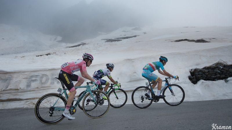 Giro musste aufgrund von COVID-Beschränkungen die große Bergetappe abschwächen