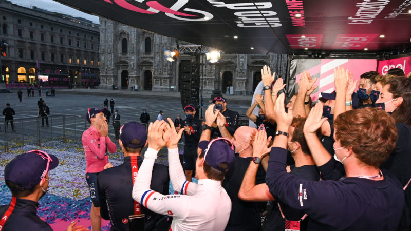 With Tao Geoghegan Hart's Giro win, Ineos enters a new era