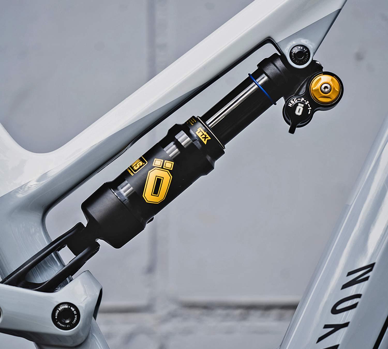 Öhlins TTX Air shocks add single or dual air options, for more trail-enduro-eMTB tuning