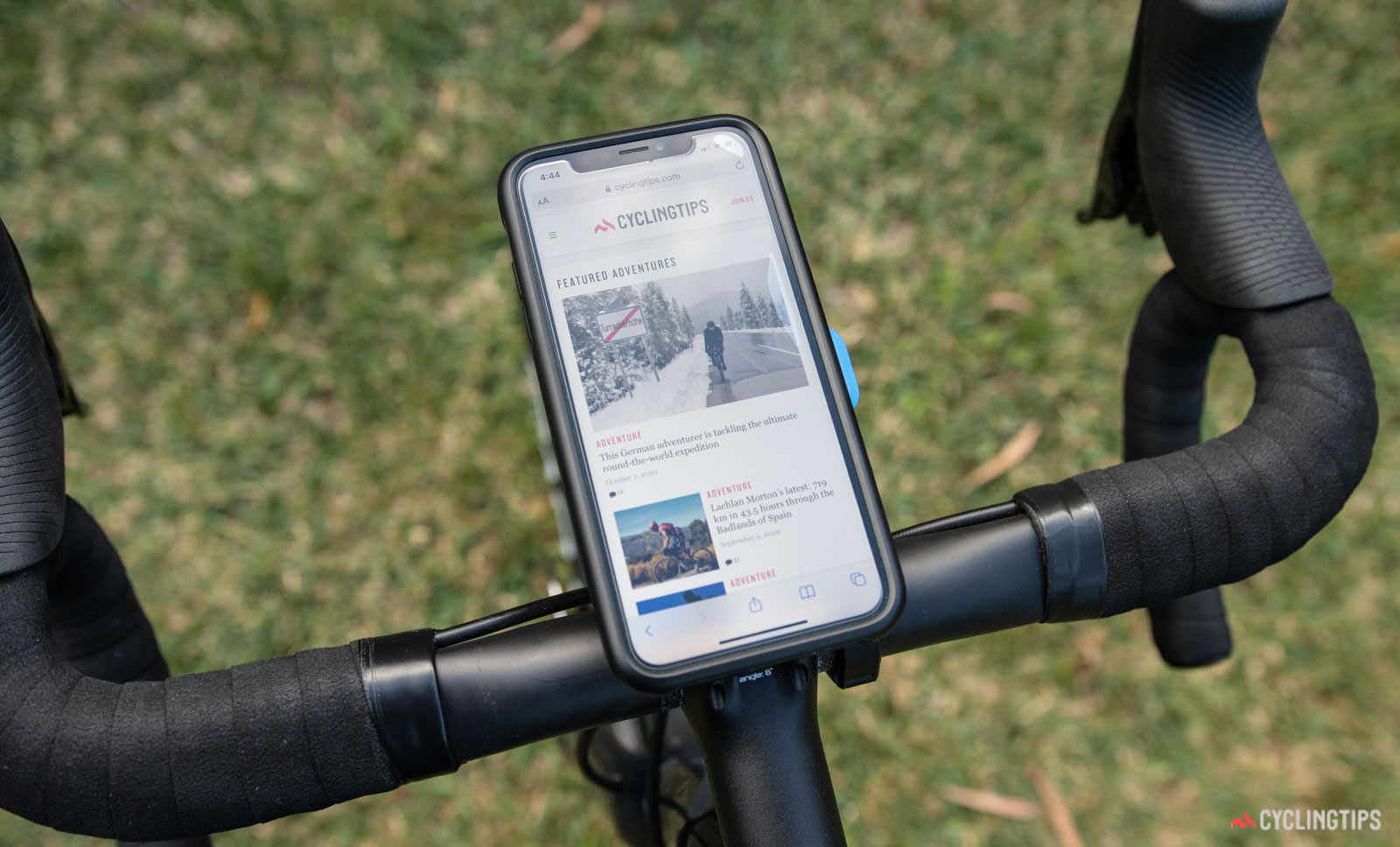 Quad Lock mobile phone mount review: Solid and secure