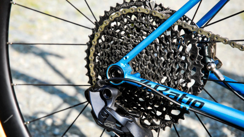 SRAM doesn't do a 1×12 mechanical road drivetrain — so someone else did