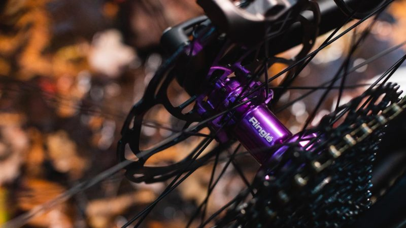 Limited Edition Düroc SD37 PRO wheels roll with 3D-Violet Ringlé Super Bubba hubs