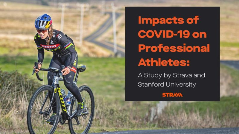 Un estudio de Strava + Stanford muestra los efectos mentales, físicos y financieros del COVID-19 en los atletas profesionales
