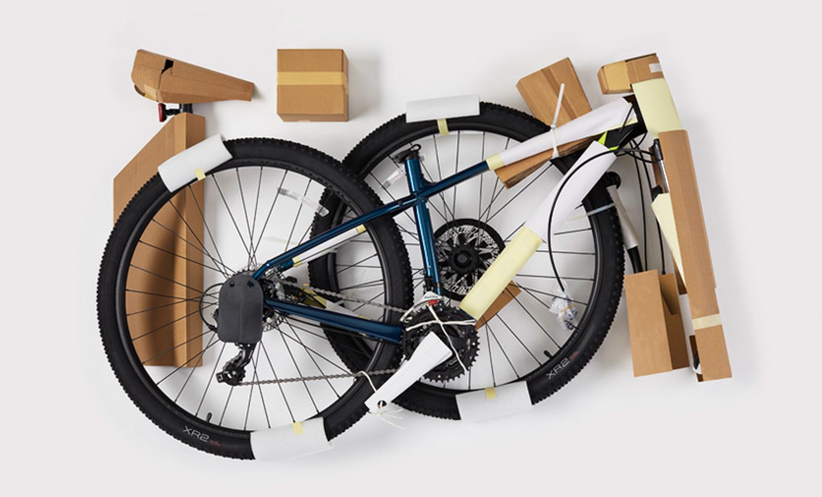 25 Tonnen Plastik nach unten, ein langer Weg: Treks neue nachhaltige Verpackung