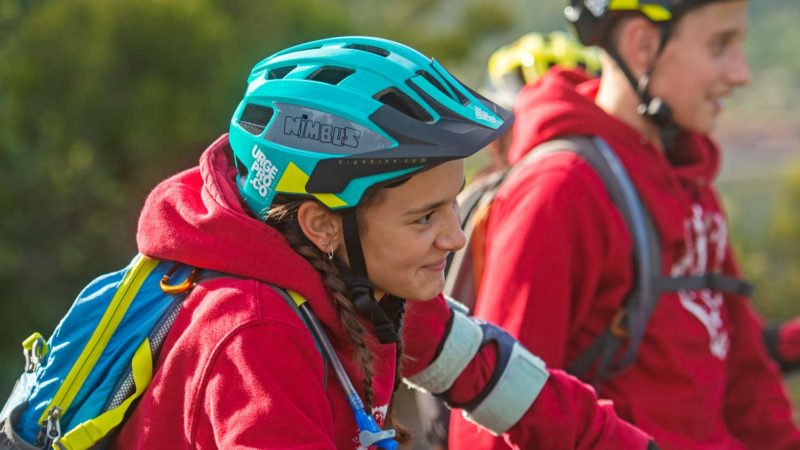 Urge Nimbus kid's MTB helmet delivers serious all-mountain protection for all ages
