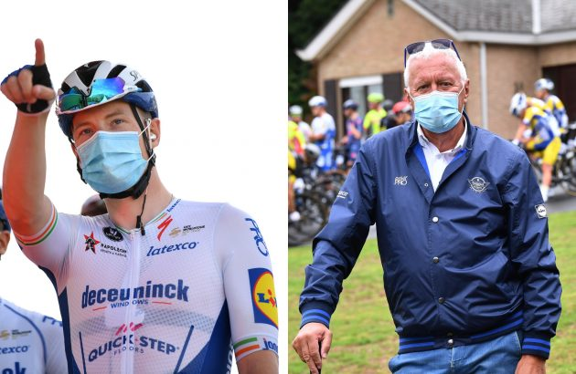 Patrick Lefevere califica el descenso de Sam Bennett como 'toros ** t' en la Vuelta a España