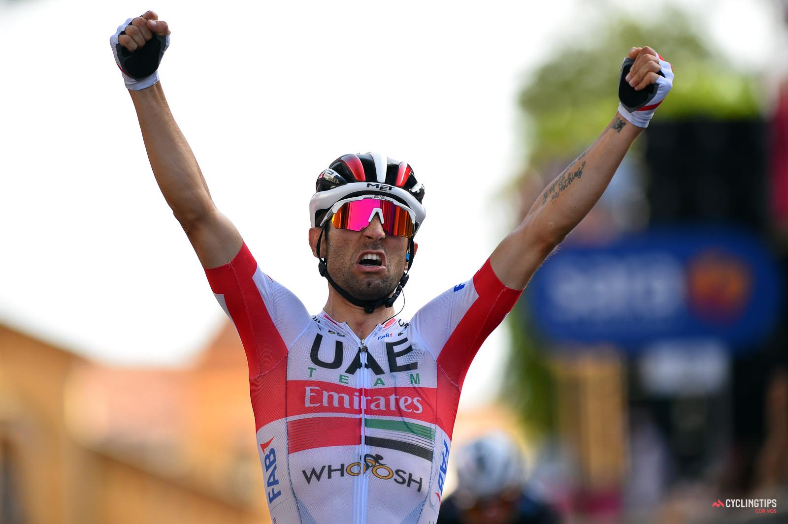 Diego Ulissi vinder anden etape af Giro d'Italia