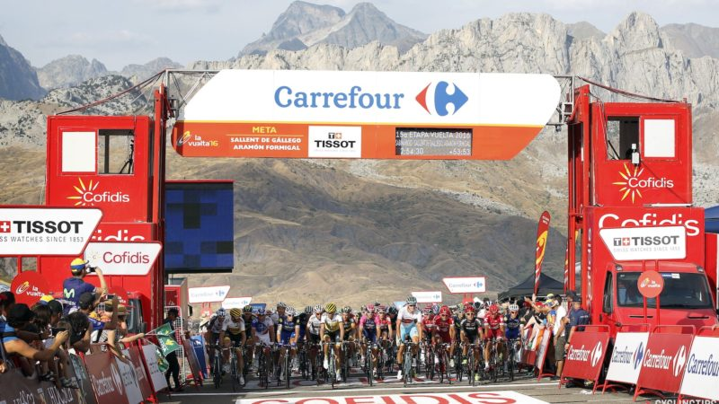 The Vuelta's sixth stage will finish at Formigal instead of on the Tourmalet