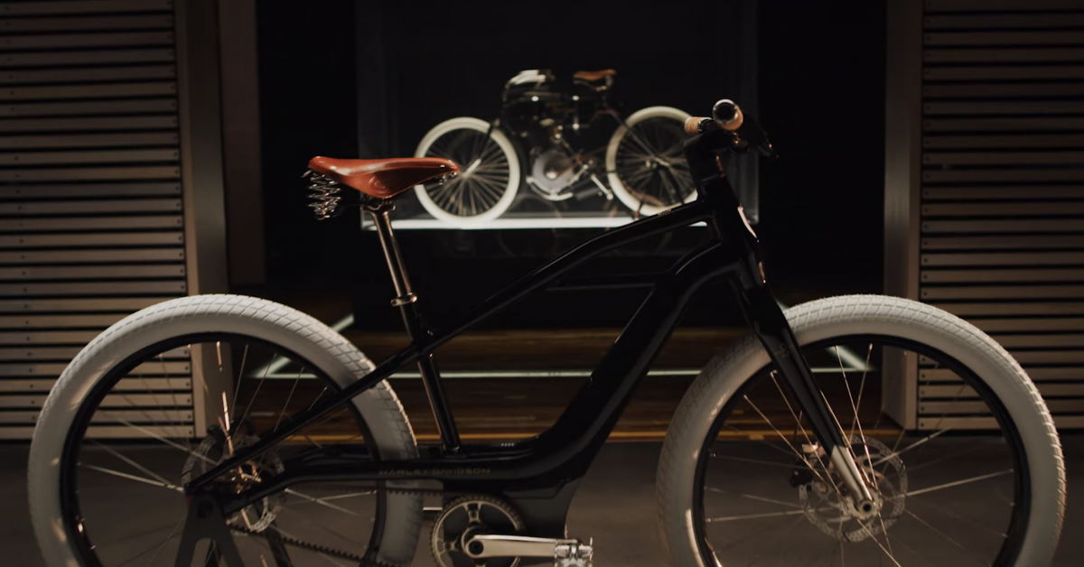 Harley-Davidson E-Bike: Motorcycle Icon Unveils New Bicycle Brand