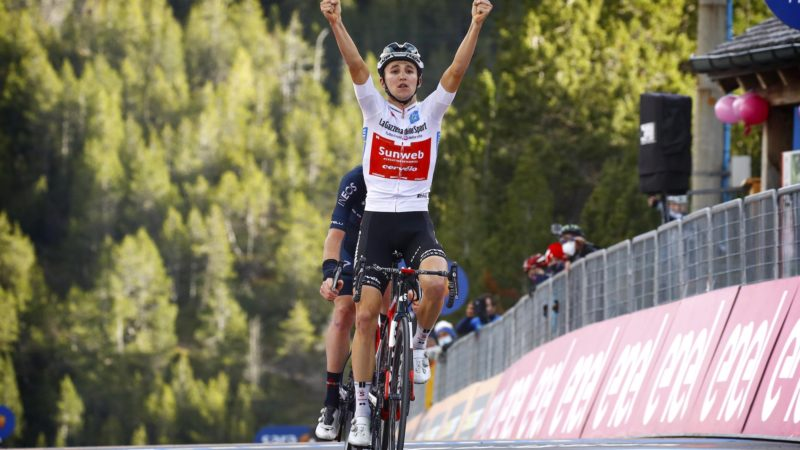 Hindley gana la etapa 18 del Giro, Kelderman se convierte en líder de la general: Daily News Digest