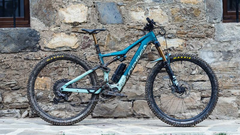 Orbea Rise e-MTB is ultra lightweight w/minimal assist for extended trail riding