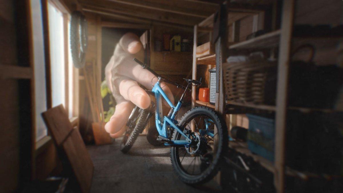 Erinnerst du dich an Finger Biking?