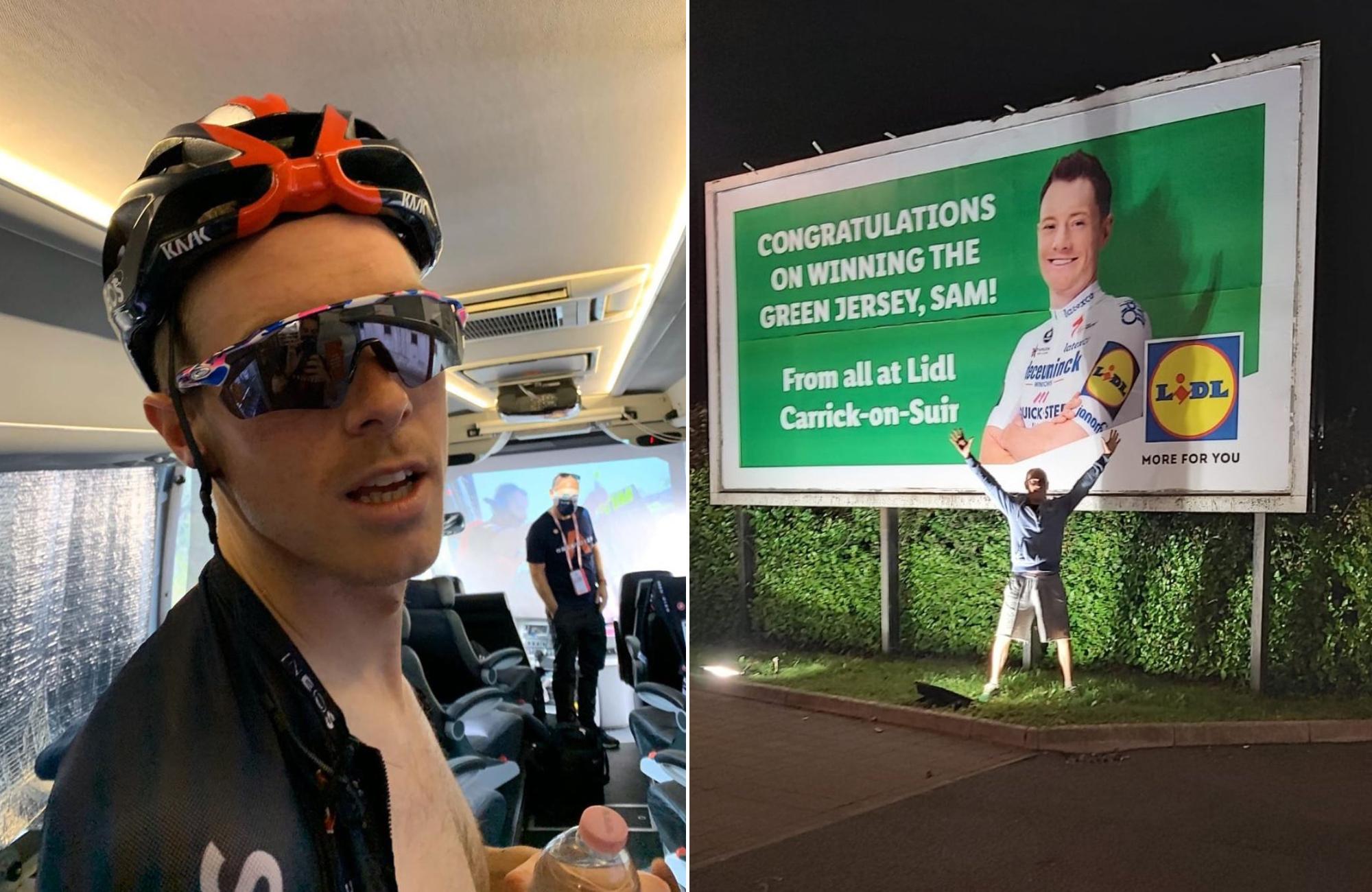 Tweets van de week: Rohan Dennis de impressionist en Sam Bennett op een reclamebord voor Lidl