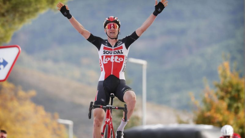 Wellens nabs stage 5 of the Vuelta a España from the break
