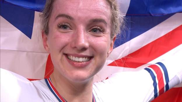 Elinor Barker: Olympisch kampioen in de hoop op drukte op de Spelen in Tokio