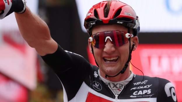 Vuelta a Espana: Tim Wellens übertrifft Michael Woods auf seiner zweiten Etappe