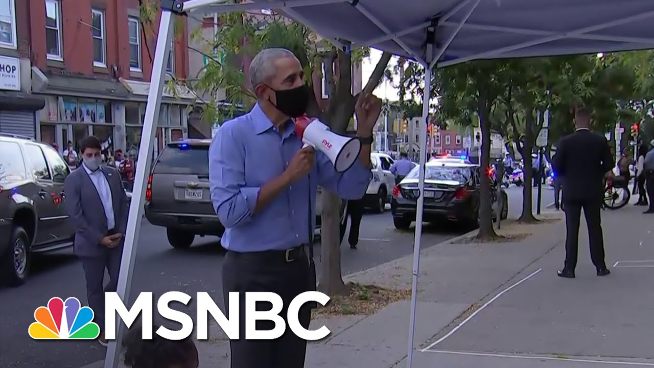 Campaigning Is Like 'Riding A Bike' For Obama, Errin Haines Claims | Deadline | MSNBC