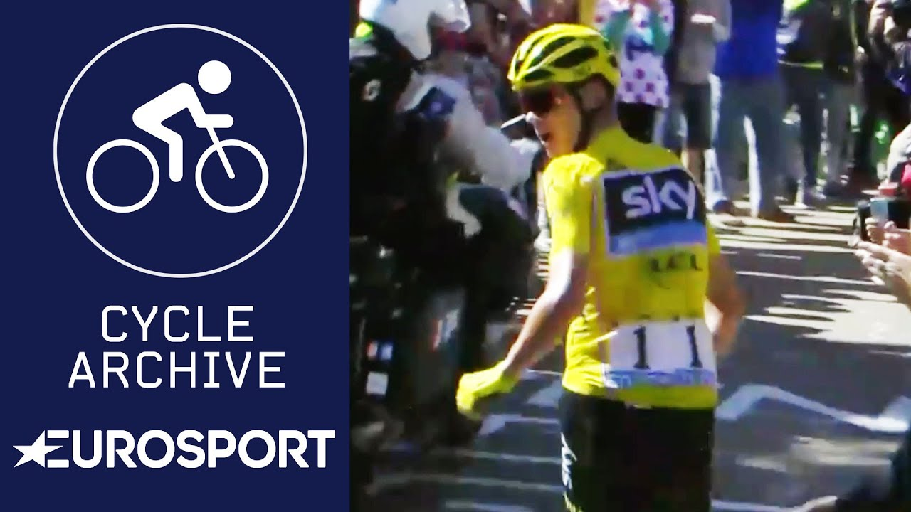 Christopher Froome runs without a bike in Mont Ventoux! | Cycle Archive | Eurosport