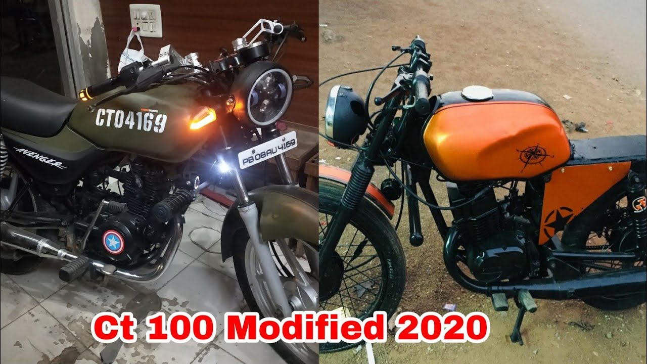 Top 10 Ct 100 Modified Bike New 2020