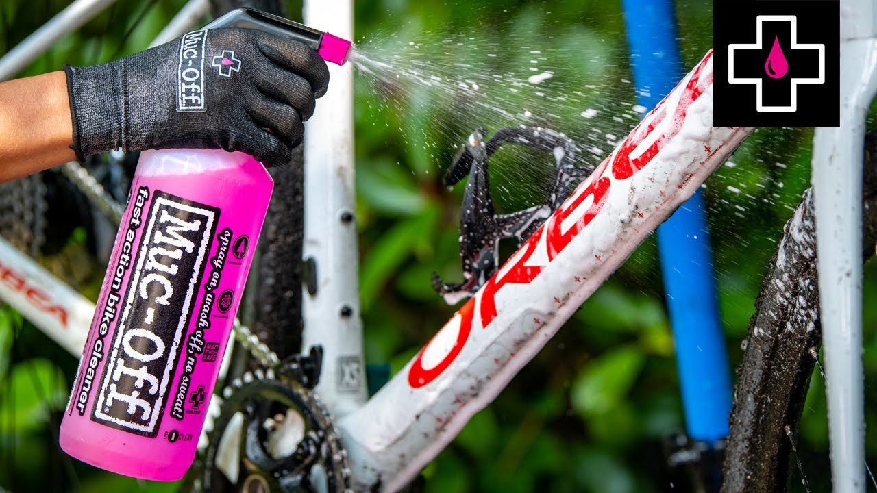 How to Clean, Protect & Lube your gravel bike after a muddy ride // Muc-Off