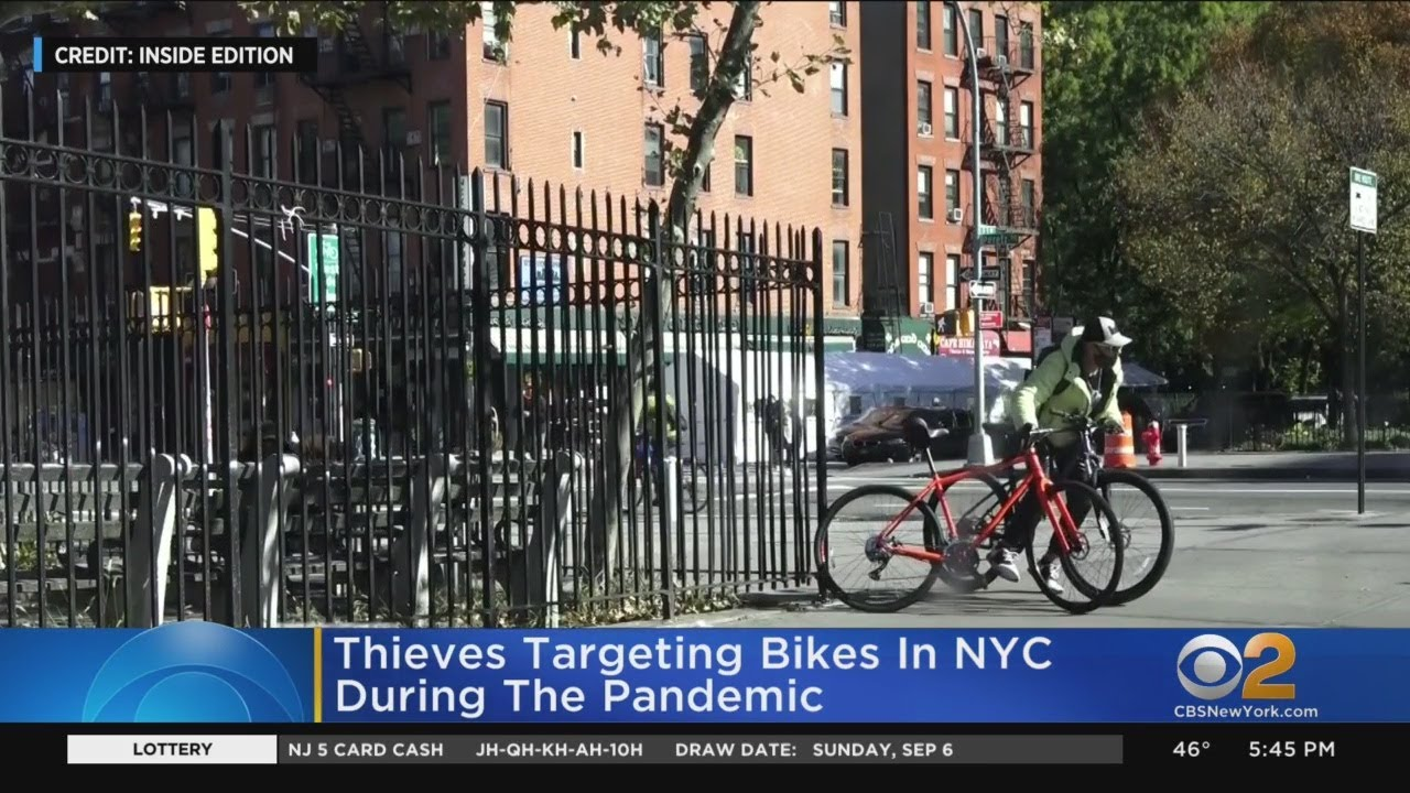 Thieves Targeting Bikes In NYC During Pandemic
