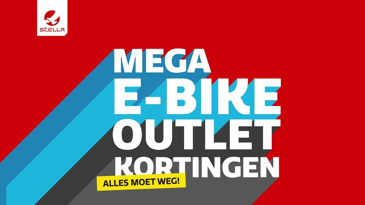 Mega E-bike Outlet Korting bij Stella