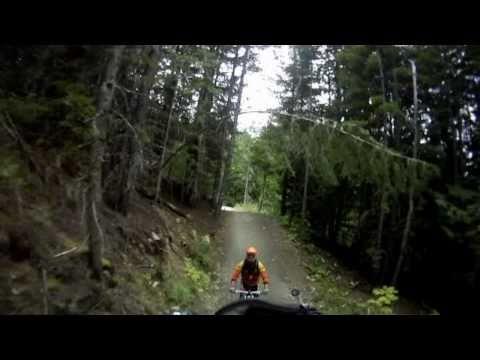 Stealth Electric Bikes in Whistler Bike Park