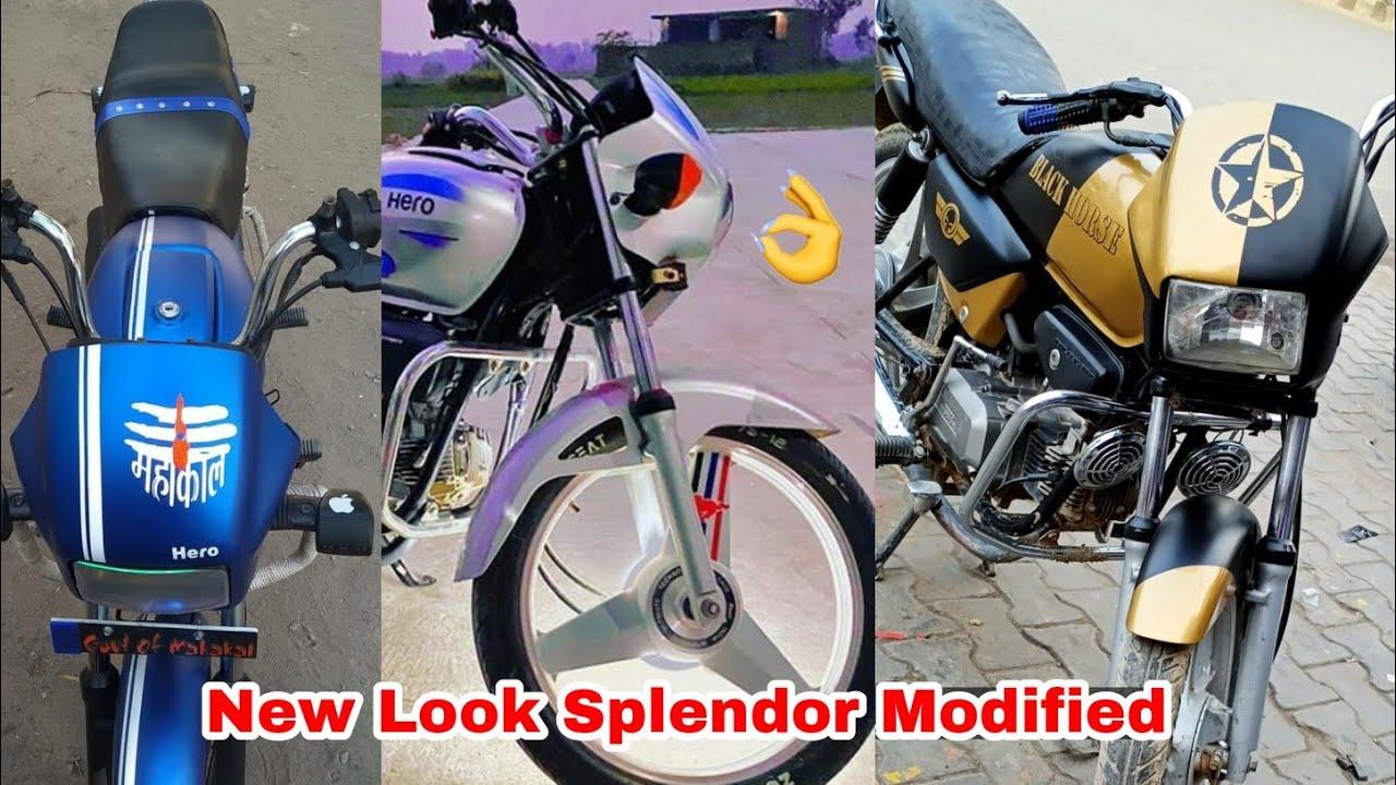 Ultra Modified Hero Splendor Plus Bike 2020 | Part 5|#fhmodified
