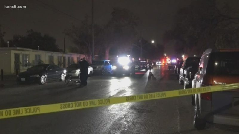 Man shot while riding bike