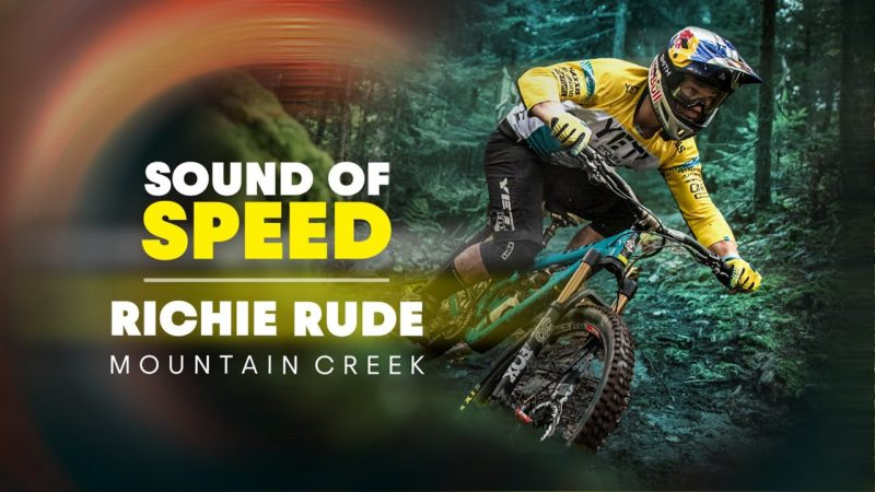 Richie Rude's Raw MTB Tear Up Of Mountain Creek Bike Park | Sound of Speed